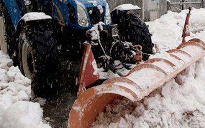 Volontari per sgombero neve