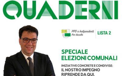"""Nuova edizione dei """"Quaderni"""" – edizione marzo 2016"""