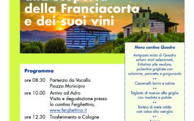 Una giornata alla scoperta della Franciacorta e dei suoi vini.