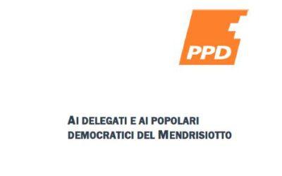 Assemblea straordinaria del Distretto PPD del Mendrisiotto